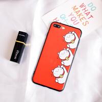 苹果8手机壳套iphone6女款7plus猫圣诞新年款p个性创意软10X 苹果6/6S 三只猫
