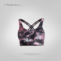 瑜伽服背心秋冬新款锦纶运动内衣塑形上衣健身跑步文胸T052