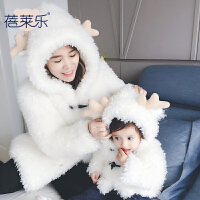 女宝宝衣服冬季0岁7个月女童新生儿加厚保暖连帽外套秋冬装婴儿服