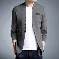 毛衣男士秋装上衣秋衣服春秋款潮流修身青年韩版针织开衫外穿外套