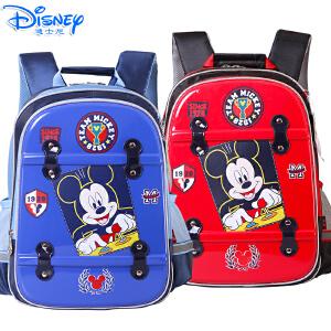 Disney/迪士尼 儿童小学生1-4年级卡通米奇米妮双肩减负减压书包MB8239