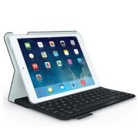 罗技(Logitech) iK610 键盘保护套 适用于iPad Air 1代 烈焰红,神秘黑 无线轻薄智能蓝牙键盘盖