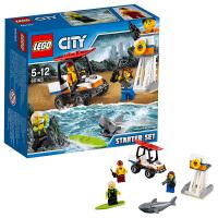 LEGO乐高城市系列海岸警卫队入门套装60163