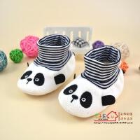 for kids/禾子家 0-3-6-12个月1岁春秋季女宝宝学步鞋8新生幼儿男软底防滑婴儿鞋子