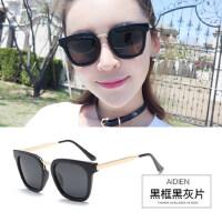 复古太阳镜女士开车眼镜 偏光墨镜韩版时尚太阳眼镜潮人