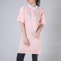 adidas阿迪达斯三叶草服女子连衣裙短袖休闲运动服CE5589