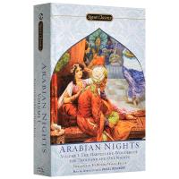 一千零一夜 英文原版小说 The Arabian Nights 天方夜谭 阿拉伯民间故事书集 Richard Franc