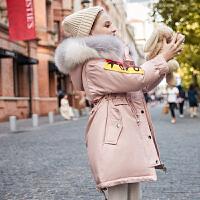 儿童羽绒服女童冬季中长款中大童装加厚女孩外套