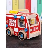 儿童小汽车玩具积木拼装玩具益智1-2-3-6-7-8-10周岁男孩智力