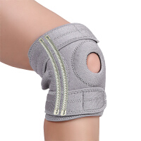 四弹簧支撑羽毛球跑步登山护膝 运动 篮球女士膝盖护具 均码一副不分左右脚