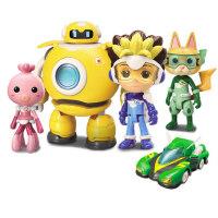 启蒙玩具奇趣特工队机器人男孩英雄模型女孩过家家儿童遥控车幼儿