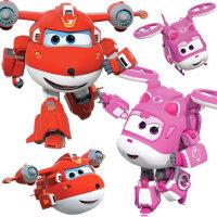 乐迪超级飞侠玩具套装全套声光变形机器人男孩第七季小爱超级装备