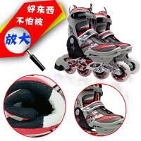 儿童溜冰鞋可调节轮滑鞋套装旱冰鞋套装