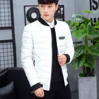 2017冬季新款加厚韩版棉衣男士修身外套青年学生帅气潮流棉袄