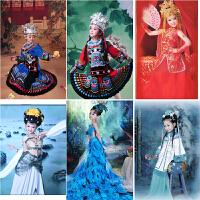 儿童古装/唐装汉服/女童唐风仙女装舞蹈服装小贵妃影楼摄影雀之灵