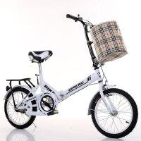 20寸折叠自行车男女式超轻便携减震16寸儿童小学生青少年单车