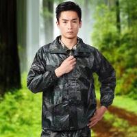 军迷雨衣07迷彩雨衣户外训练长款救援雨衣丛林雨衣 07