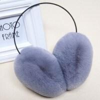冬季保暖耳套女耳捂子耳罩毛绒时尚耳包男仿獭兔毛后戴式耳暖护