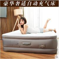大方时尚折叠午休床豪华充气床加厚充气床垫家用气垫床双人自