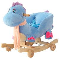 儿童木马带音乐实木两用大号摇椅玩具周岁礼物宝宝摇马