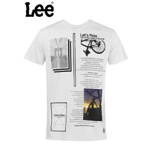 Lee 【断码】男士短袖T恤 清爽透气舒适棉质T恤 L15120866K14