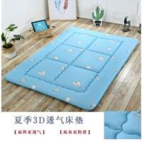 简易床垫单人折叠床垫打地铺睡垫防潮垫加厚地垫办公室午休垫便携SN0830 透气防滑 纸飞机