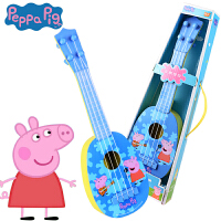 贝芬乐 小猪佩奇吉他玩具尤克里里音乐玩具粉红猪小妹佩琪Peppa Pig