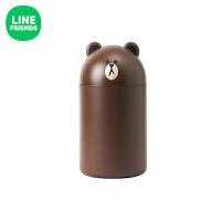 布朗熊办公家用垃圾桶 卡通动漫周边可爱桌面垃圾桶 布朗熊 195×195×355mm