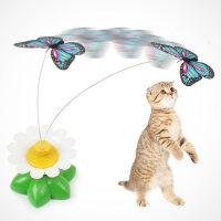 【支持礼品卡】猫玩具电动飞舞蝴蝶逗猫棒遥控假老鼠毛绒仿真猫咪用品小幼猫猫爱k0f