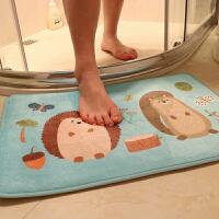 家纺卡通门垫脚垫浴室防滑垫卫浴门口吸水地垫卧室厕所卫生间厨房垫子