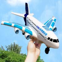 儿童飞机玩具遥控飞机充电动3-6岁小男孩子耐摔大号航空客机模型