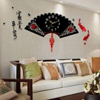 中国风钟表挂钟客厅个性创意时尚现代简约大气潮流家用静音时钟