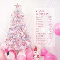 粉色圣诞树 1.5米sakura樱花渐变色圣诞节礼物礼直播粉色ins风圣诞树