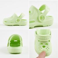 宝宝拖鞋女夏季1-3-5岁软底防滑婴幼儿凉托鞋儿童男童凉拖