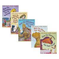 【首页抢券300-100】Scholastic How Do Dinosaurs 学乐家有恐龙系列 5册 情商培养 行为