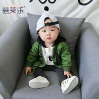 201805060743201婴儿外套秋女童秋装新款宝宝1岁3个月新生儿上衣秋冬男童开衫