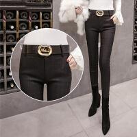打底裤女外穿加绒秋冬新款韩版修身显瘦高腰紧身小脚铅笔长裤