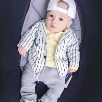 男女婴儿衣服宝宝春秋冬装外套普通儿童装0岁3个月秋季女宝宝上衣
