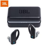 【当当自营】JBL Endurance Peak 黑色 真无线蓝牙耳机 防水防掉落专业运动耳机