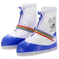 儿童防雨鞋套 加厚防滑耐磨 防雨鞋套 便携男女卡通 防水鞋套