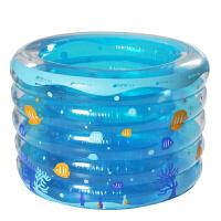 YT-214-215五环圆形透明水池婴儿宝宝环保安全充气保温游泳池婴儿儿童游泳池设备