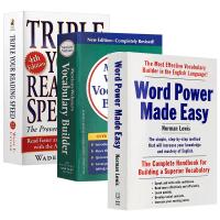 单词的力量wordpower made easy+韦小绿 韦氏字根词根词典Merriam Webster's Vocab