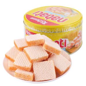 印尼进口 丽芝士纳宝帝奶酪味威化饼干170克