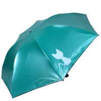 天堂伞33361E萌萌宠物铅笔伞三折防紫外线遮阳伞清新可爱