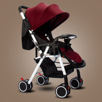 【支持礼品卡】轻便 婴儿推车可坐躺可折叠四季可用四轮儿童手推车g2z