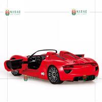 保时捷遥控车方向盘重力感应充电动汽车赛车男孩儿童玩具