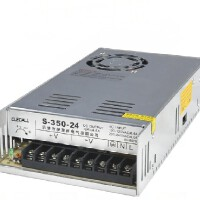 伊莱科 开关电源S-350-24 单组单路输出DC24V 监控安防电源 350W