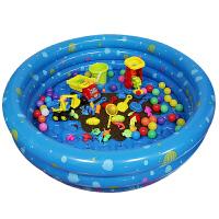 儿童沙滩充气沙池套装大号宝宝戏水洗澡玩水沙漏铲沙子