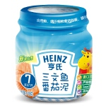 【当当自营】亨氏 Heinz三文鱼番茄泥 2段(6-36个月)113g/瓶 宝宝辅食(团购电话:010-57992568)