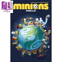 【中商原版】英文原版 小黄人漫画小说1 各国美食大杂烩! Minions Volume 1 Minions Paella